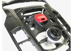 Lamborghini Aventador Karbon Verkleidung MMI 470919609C carbon operating device mmi switch