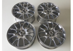 Ferrari 612 Felgen 20 Alufelgen 213595 239787 rims ball polished BBS