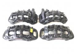 Ferrari 488 GTB 327576 327570 328378 328369 set brake calipers dark grey