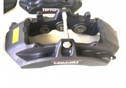 Ferrari F12 Satz Bremssättel schwarz eloxiert 278828 278827 284219 284218 brake calipers black anodised CCM