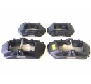 Ferrari F12 Set of 278828 278827 284219 284218 brake calipers black anodised CCM