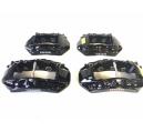 Ferrari California T Satz Bremssättel schwarz 297302 297303 311669 311668 brake calipers black CCM