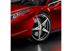 "FERRARI 458 ITALIA SPIDER 20"" FORGED WHHEELS SET TWO COLOURED DIAMOND POLISHED 70004981"