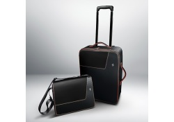 FERRARI REISETASCHE KOFFER CARBON GENUINE TROLLEY TOP RED DETAILS 70004949