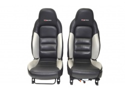 Corvette C6 Z06 Bicolor Leather Seats