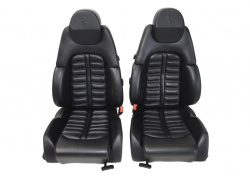 Ferrari 360 black leather seats
