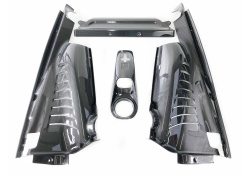 Ferrari 488 COUPE MOTOR VERKLEIDUNGEN LATERAL COSMETIC SHIELD CARBON 86935100 86421900 86422600 86423100