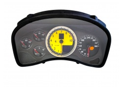 Ferrari 430 SPIDER CARBON YELLOW COMPLETE INSTRUMENT BOARD 230363