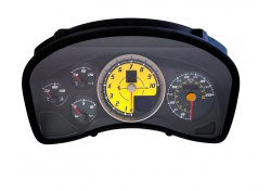 Ferrari 430 SPIDER Tacho Tachometer Karbon Gelb USA CARBON YELLOW COMPLETE INSTRUMENT BOARD FOR USA 230363
