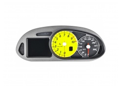 Ferrari 599 GTBS TACHO KOMBIINSTRUMENT COMPLETE INSTRUMENT BOARD -Yellow revolution 249117