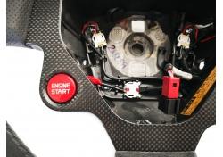 Ferrari F141 599 GTO STEERING WHEEL CARBON LEATHER ALCANTARA 836935