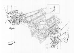 Maserati Ghibli Quattroporte RH TURBOCHARGER 297710
