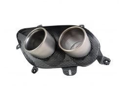 FERRARI 812 SUPERFAST LH TAILPIPES WITH MESH 88768600