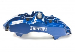 Ferrari F430 CCM Brembo Bremssattel SET Carbon Ceramic Blue Exclusive Color