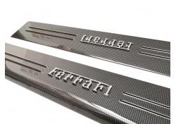 Ferrari 812 Superfast Einstiegleisten Karbon links rechts Kikplate Carbon LH RH 88070000 88070100