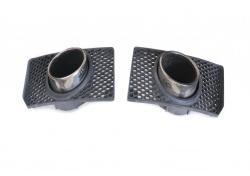 Lamborghini Gallardo Auspuffblenden SET Tail Pipes 400807676 400807675