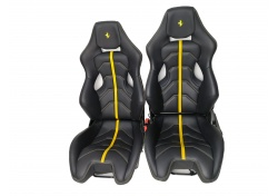 Ferrari 458 Coupe Spider 488 GTB Spider Racing Seats Carbon Black
