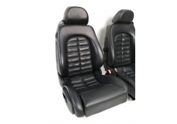 Ferrari 550 Maranello black leather seats