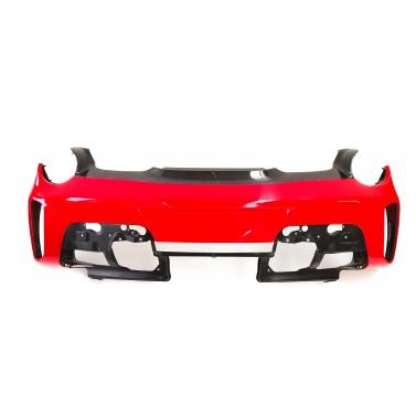 Ferrari 488 Pista Bumper Rear Mesh Version with Carbon Upper Shell 985829588