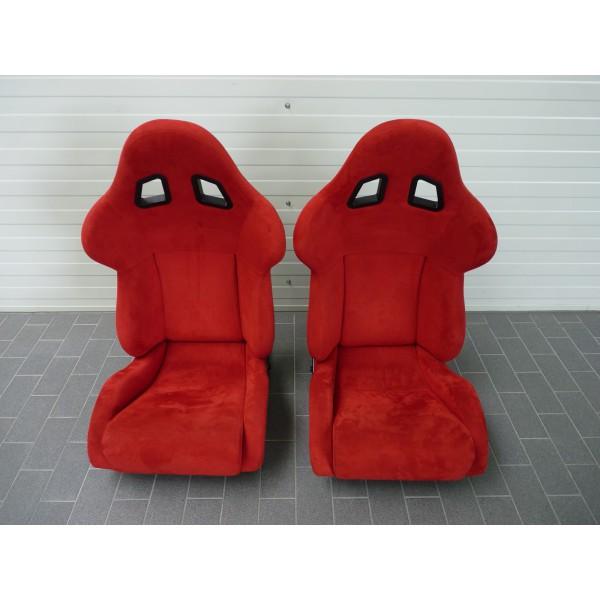 Ferrari F131 F360 Challenge Stradale Racing Seats Red