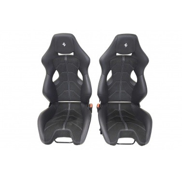 Ferrari 458 Racing Leather Seats, Alcantara