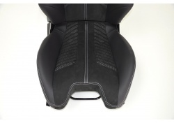 Ferrari F12 Berlinetta Racing Leather Seat, Alcantara Passenger