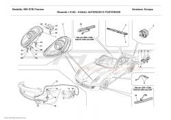 Ferrari 599 GTB L.H. Headlight 218666