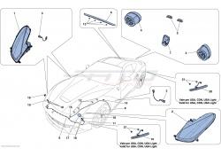 Ferrari F12 Berlinetta AFS R.H. Headlight 275037