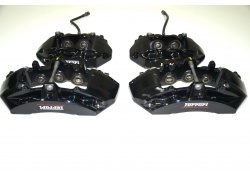 Ferrari 458 Set of Brake Calipers Black 251859, 244968, 244967